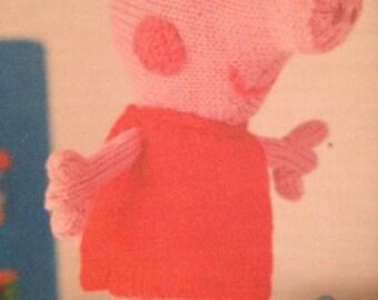 Peppa Pig Knitting Pattern