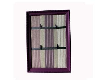 Vintage plum bayadere frame