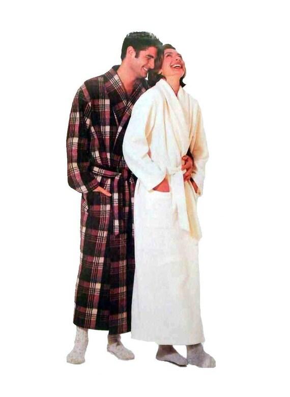 Wickeln Robe Schnittmuster Herren oder Damen Größe XS klein