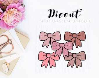 Bow Galore Diecuts (Valentine's Day Edition)