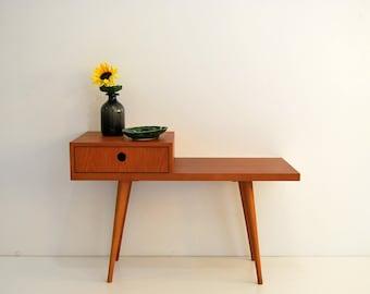 Gossip Bench, Gossip Table, Entryway bench, Retro Telephone Table, Mid Century Modern Style, Nordic Style, Scandinavian
