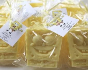 10 Spongebob Squarepants Party Favor Soaps