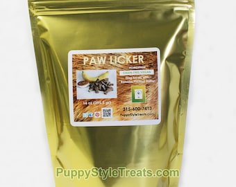BANANA / organic PEANUT BUTTER  Dog  Biscuits 1lbs