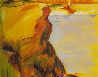 Moraira / oil on canvas