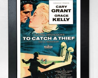 To Catch A Thief A3 Classic Movie Poster Unframed