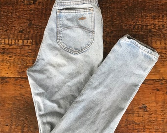 Vintage 90s Chic high waist tapered leg jeans