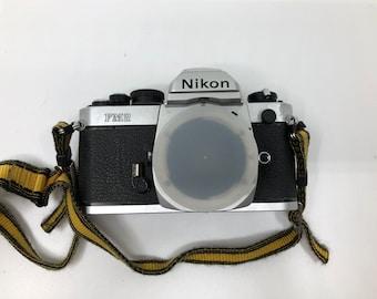 Nikon FM2 Silver Camera Body with Auto-winder
