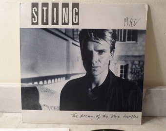 Vintage 1985 LP Record Sting The Dream of the Blue Turtles Excellent Condition 14845
