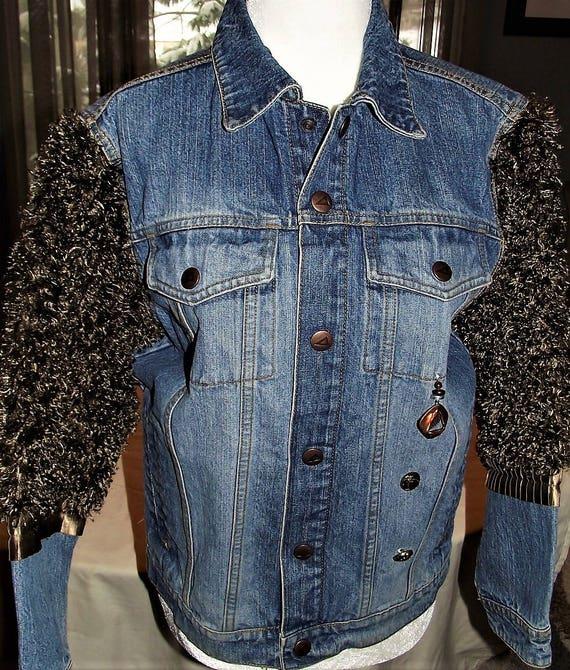 Refurbished Womens Denim Jacket
