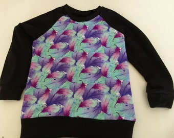 Handmade Size 3  Feather Sweater