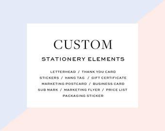 Stationery Elements