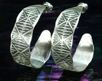 Hoop Earrings- Stargate