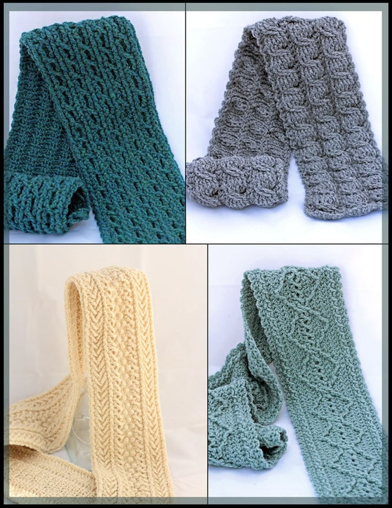 Crochet Cable Scarf Patterns Crochet Mens Scarf Patterns