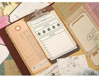 Memo Paper Set 1 - Planner, Journal, Craft, Scrapbooking, Decoration