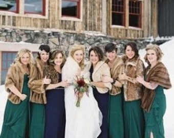 Capes for Bridesmaids
