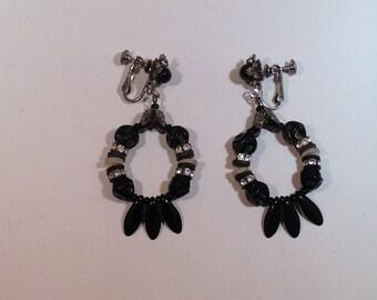 Black Haskell Earrings