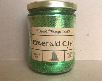 Emerald City 100% Soy Wax Candle