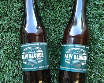 Paw Blonde Bottled