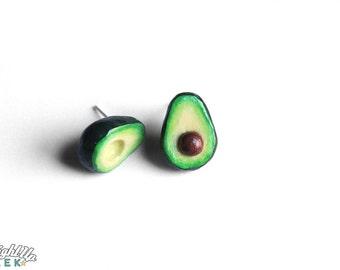 Avocado Earrings Avacado Tiny Food