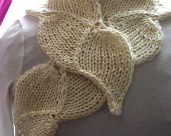 WinterBud  PDF Hand Knitting Pattern   Put some spring into your winter wardrobe