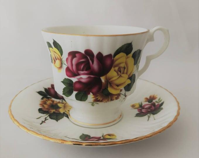 Royal Windsor Cup and saucer-fine porcelain bone