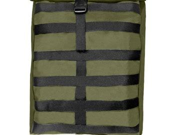SALE - Waterproof Roll Top Backpack, Rucksack Backpack Mens Backpack Womens Backpack College Backpack Laptop Backpack 15 inch Travel Black