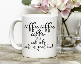 Coffee Lover's Gift, Funny Coffee Mug