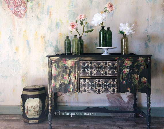 How To Paint Class Step by Step Furniture Makeover