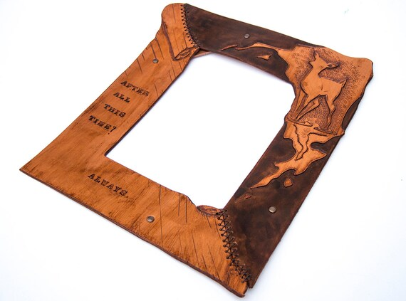 Harry Potter Leather Frame - After all this time? Always - Severus ...