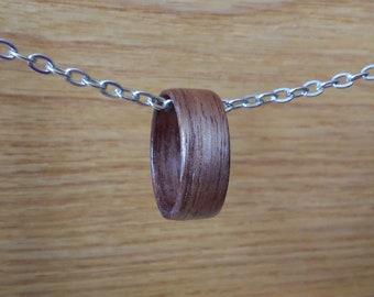 Handmade Walnut Ring
