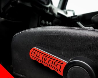 "Jeep Wrangler ""Pull To Eject"" Sticker"