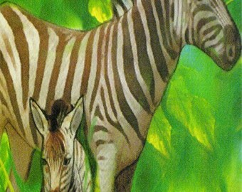 Zebras (Jungle Card line)