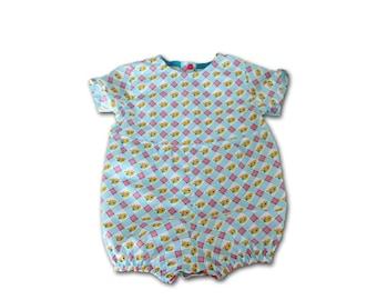 Romper 12 months / birthday gift / girl or boy onesie