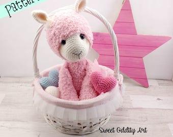 alpaca crochet pattern, alpaca, llama crochet pattern, crochet pattern, amigurumi, crochet alpaca, crochet llama