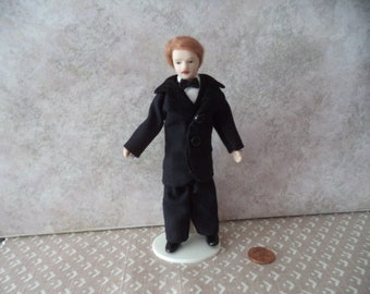 1:12 scale dollhouse miniature Man/ Father Doll