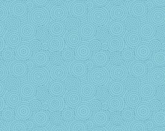 Bright blue circles - Geometrix