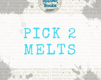 PICK TWO Melts Bundle    Wax Melts    Candle Lover Gifts    Soy Wax    Housewarming Gifts    Gifts Under 10    Made in MS    Wax Tarts   