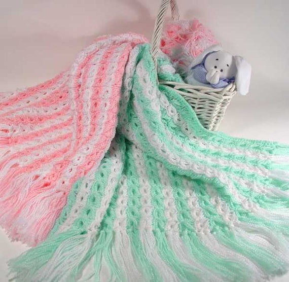 Broomstick Lace Baby Afghan Crochet Pattern Pdf