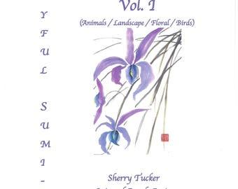Joyful Sumi-e Coloring Book Vol. I
