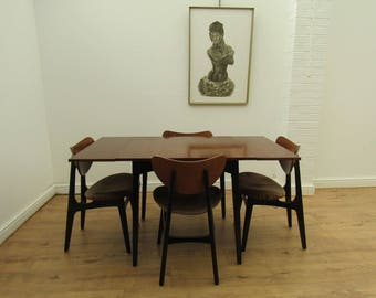 Mid Century Modern Retro Teak G Plan Dining Table U0026 4 Butterfly Dining  Chairs