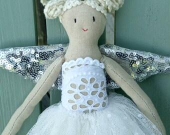 A handmade angel or fairy