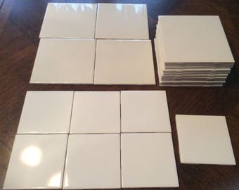 4x4 Ceramic Tile Etsy