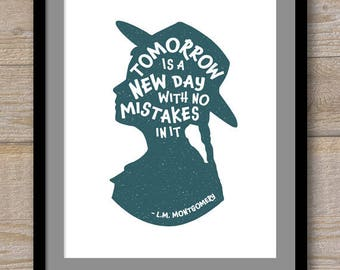 Digital File - Tomorrow is a New Day - L.M. Montgomery - Anne of Green Gables