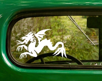 Dragon Decal, Dragon Sticker, Dragon Car Decal, Vinyl Sticker, Car Stickers, Laptop Sticker, Vinyl Decal