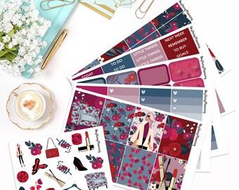 Luxe - Deluxe Weekly Kit | Erin Condren Vertical Life Planner Stickers