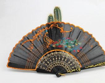 1960s Super Kitsch Spanish Souvenir Fan