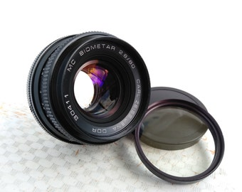 Carl Zeiss Jena MC Biometar 2.8/80 for PENTACON SIX P6 Mount Lens