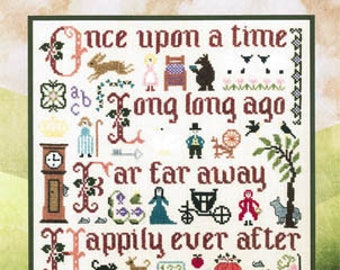 Elizabeth's Needlework Designs Fairy Tale Sampler