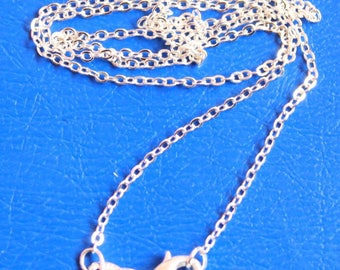 thin Rolo with 925 Silver clasp, chain 43 cm individually