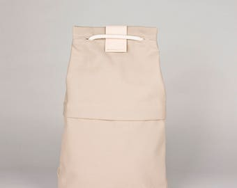 Drawstring backpack FANT/sand